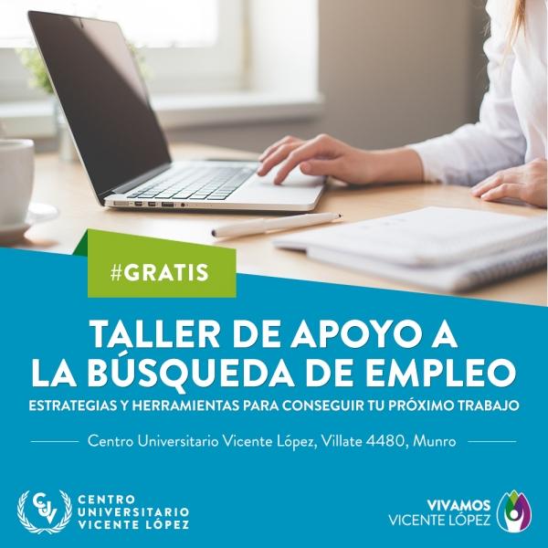 TALLER DE APOYO A LA BÚSQUEDA DE EMPLEO