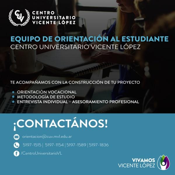 ¡EQUIPO DE ORIENTACIÓN EN EL CENTRO UNIVERSITARIO!