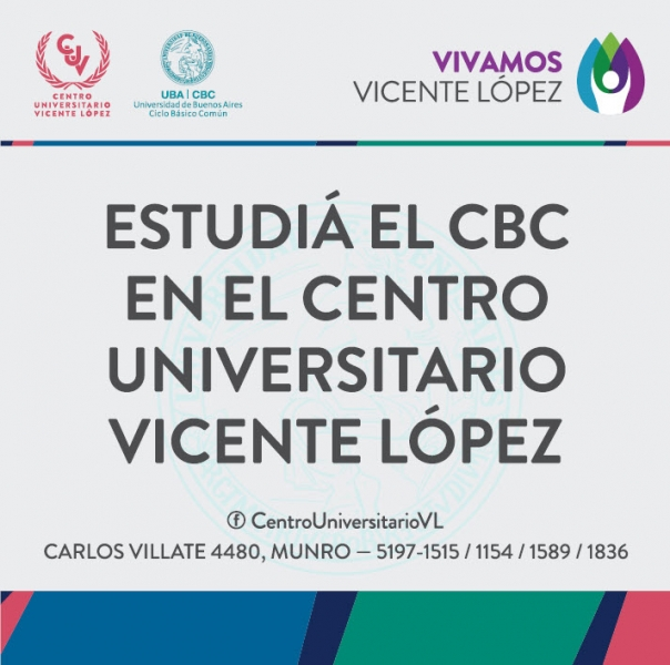 INSCRIPCIÓN RECURSANTES CBC A MATERIAS 2º CUATRIMESTRE 2018